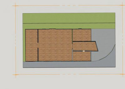 Existing Hall - Ground Floor Plan